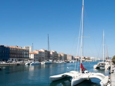 Sète : le canal principal