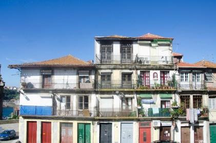 Porto: vieilles maison du centre (ville haute)