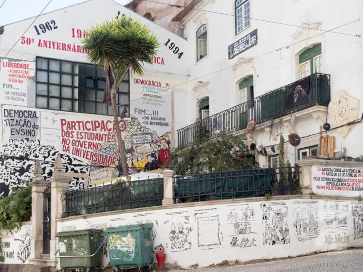 Coimbra: près de l'université