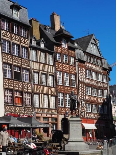 Rennes: place du Champ Jacquet