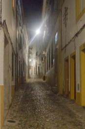 Evora: la nuit, ville mystérieuse