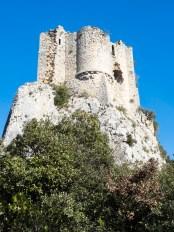 Château de Vivioures Hortus, face au Pic Saint Loup