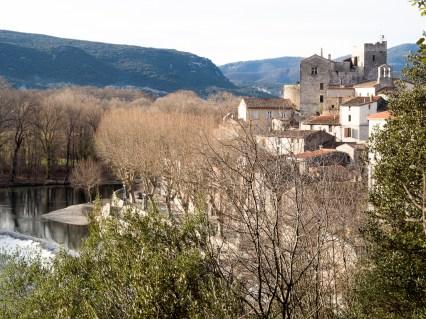 Laroque, au nord de Montpellier