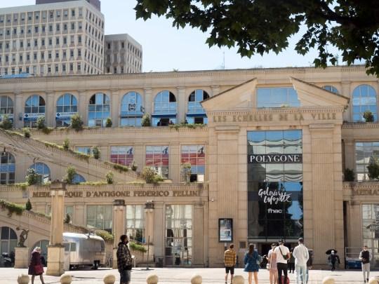 Montpellier: Antigone (centre commercial du Polygone)