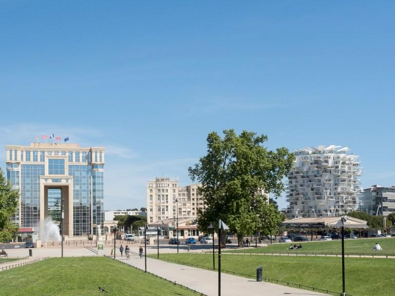Montpellier: Antigone (hôtel de région)
