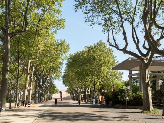 Montpellier. Esplanade Charles de Gaulle