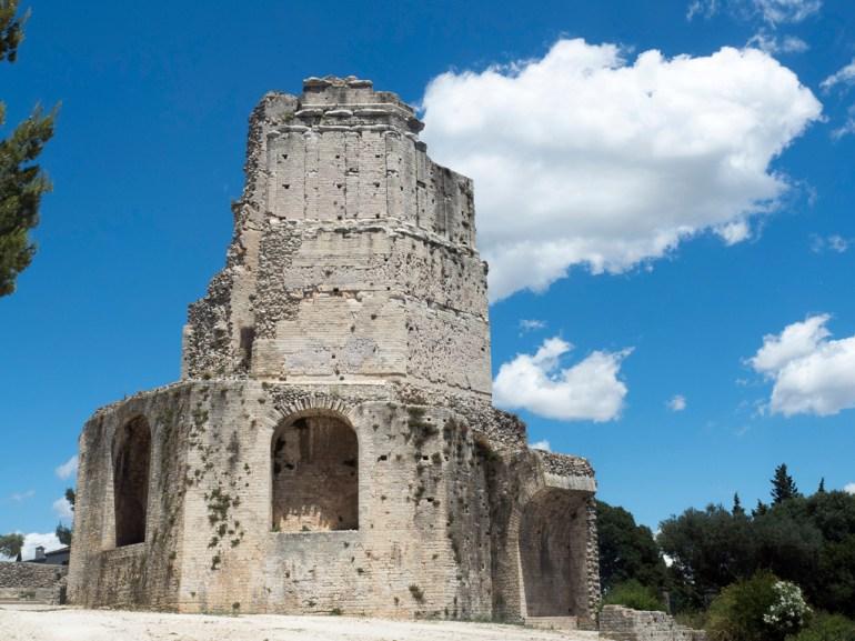 Nîmes: tour Magne