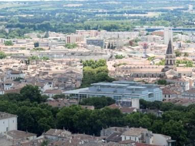 Nîmes vue depuis la Tour Magne