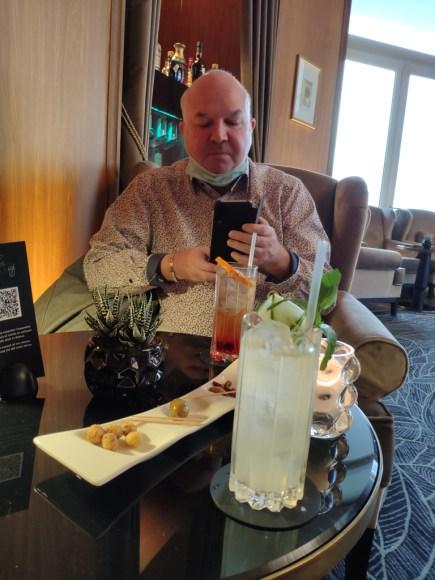 Evian cocktail au Royal