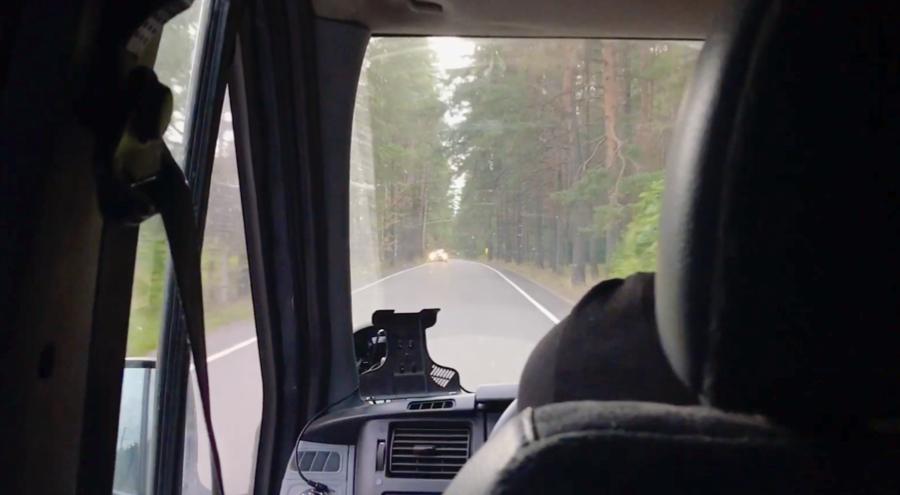 Met de auto naar Rusland