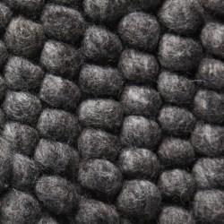 HAY Peas tæppe, 80 x 140 cm - Dark Grey