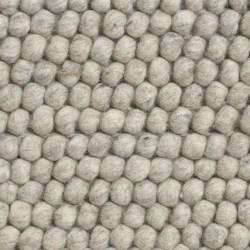 HAY Peas tæppe, 80 x 140 cm - Soft Grey