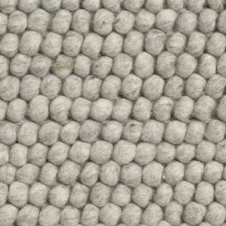 HAY Peas tæppe, 80 x 200 cm - Soft Grey