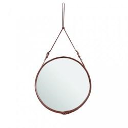 Spejl, Adnet mirror (Sort/Mellem) - GUBI