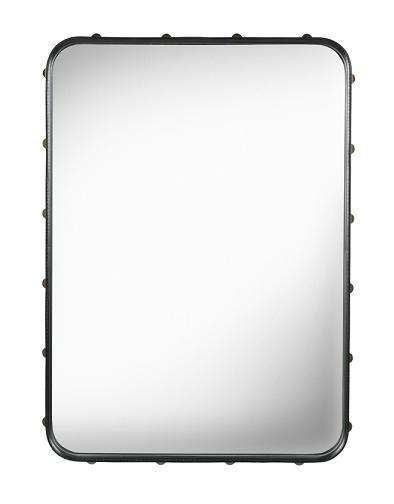 Spejl, Adnet Rectangulaire (Sort/Lille) - GUBI
