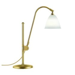 Bordlampe BL1, messing/hvid - Bestlite