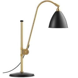 Bordlampe BL1, messing/sort - BestLite