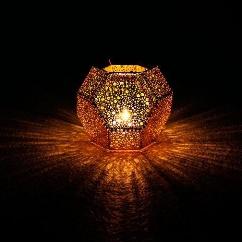 Tom Dixon - Etch lysestage kobber