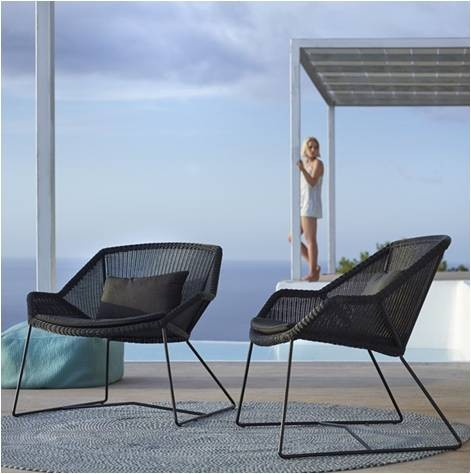 Breeze Dining Loungestol- Cane-Line