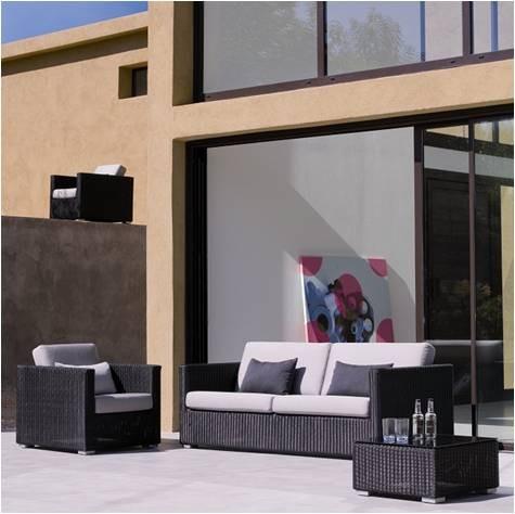 Chester 3 pers. sofa grafit - Cane-Line