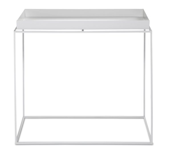 Hay - Tray Table Side Table Rectangular Hvid