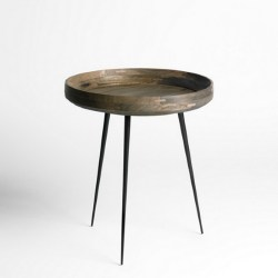 Mater Bowl sofabord Ø40 - Sirka grå (brun)