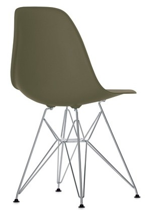 Eames Plastic Chair (DSR) - Umbragrå