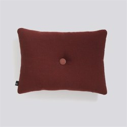 Hay - Dot Cushion Rime - RUST