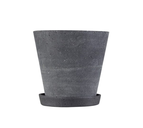 Hay - Flowerpot with Saucer - sort (small)