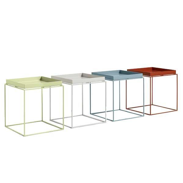 Hay - Tray Table - Mellem Blå