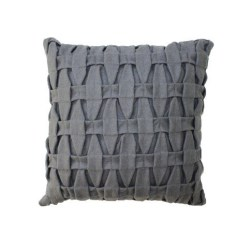 Livink Braid pillow - Dark Grey