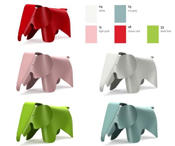 Vitra - Elephant (Hvid)