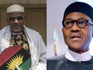 IPOB are not struggling for freedom but committing acts of terrorism to steal money - Buhari