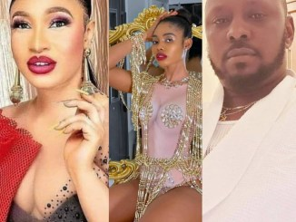 Prince kpokpogri has so much of your sex tapes in his possession - Tonto Dikeh alerts dancer, Janemena, as she responds to N10 billion lawsuit filed against her by her ex