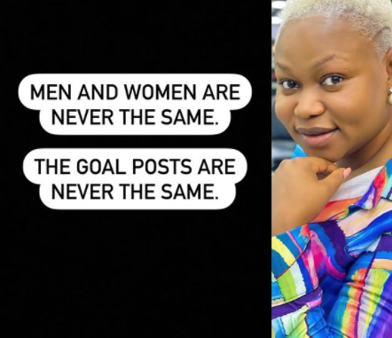 Gender equality: Men and women are never the same - Ruth Kadiri