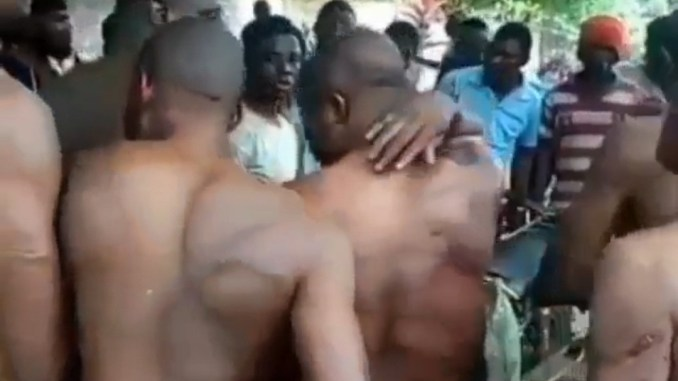 Video of brutalized Ikom youths after they were allegedly attacked by Nigerian army for chasing herders from their community