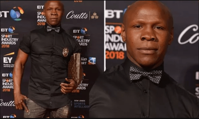 Boxing champ, Chris Eubank mugged by thief who ran off with his Louis Vuitton bag in  London