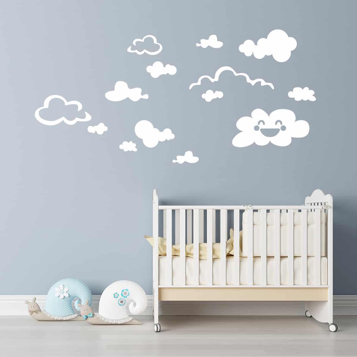 Fra gli stickers murali più belli per la cameretta di un neonato, non possiamo. Adesivi Murali Per La Cameretta Olalla