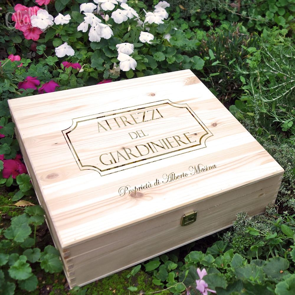Cassettina per Attrezzi da Giardinaggio Personalizzata  Olalla
