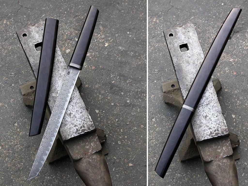We made a sword
