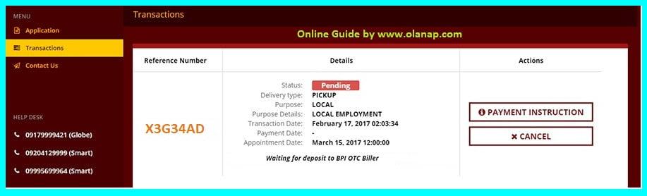 nbi online payment verification
