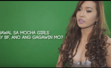 Jelai Andres audition for Mocha Girls back in 2013