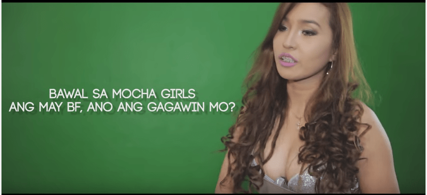 Jelai Andres try out for Mocha Girls back in 201