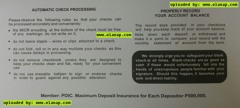 How to get Post-dated checks in BPI Updated Guide 2017