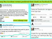 Tanay Bus Accident victims predicted their death on Facebook Post