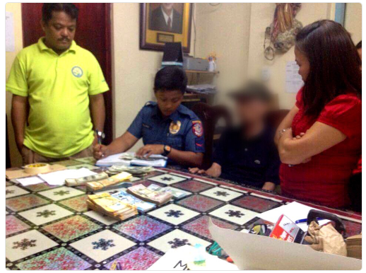 91 year old Lolo found lurking in Mandaluyong with ₱ 1.5 Million