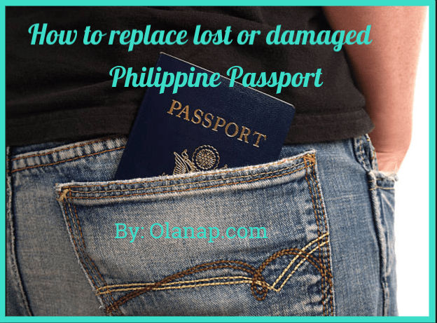 How to replace lost or damaged Philippines Passport