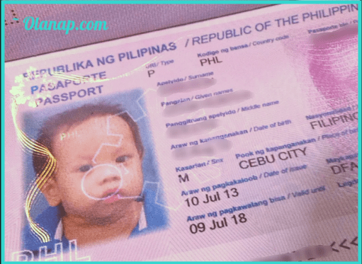 DFA Passport requirements for Minors