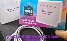 Globe AT HOME Prepaid WIFI speed test in Cavite