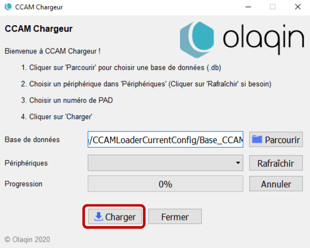 Olaqin Ccam Chargeur